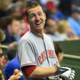 todd frazier laughing smiling