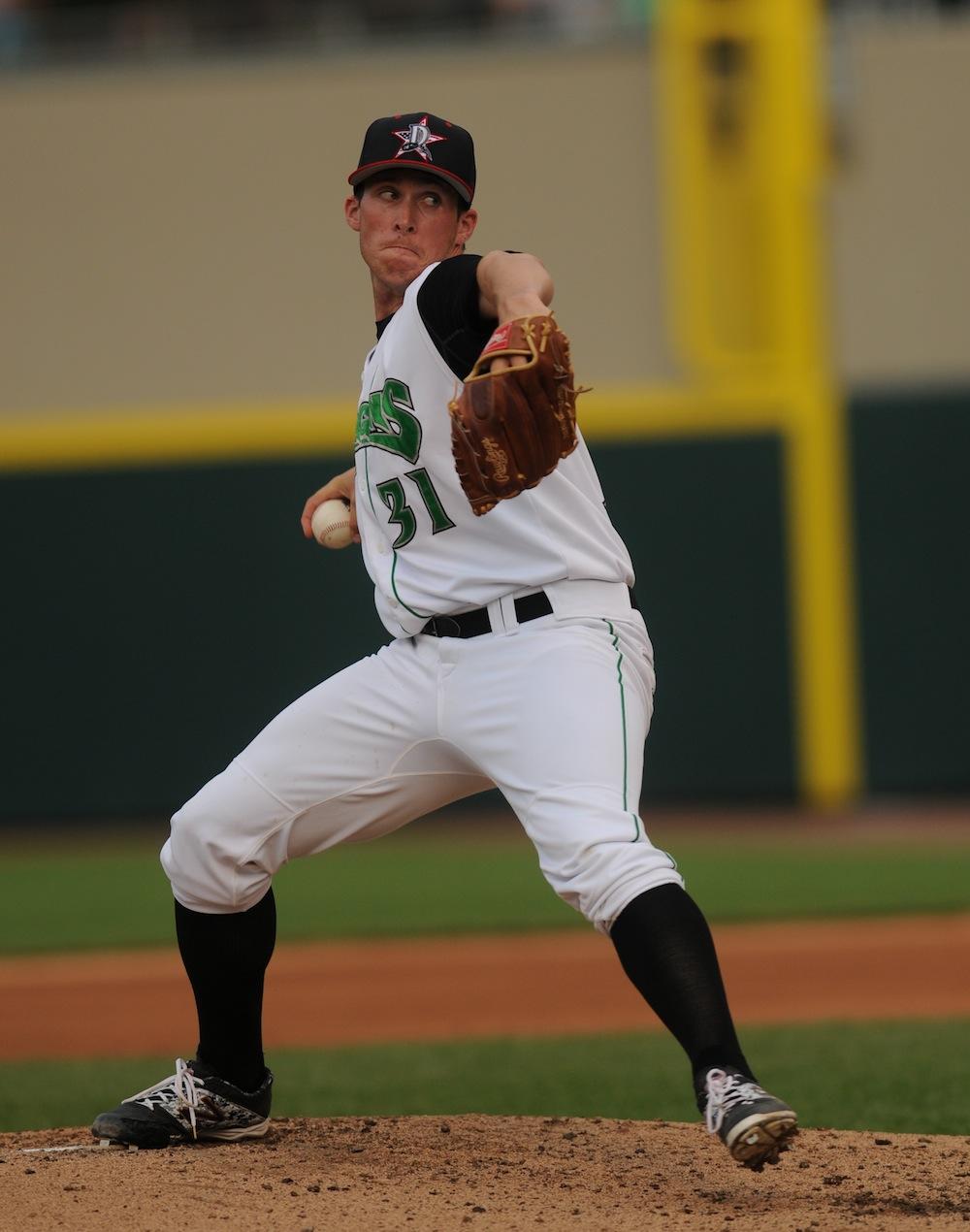 Dan Langfield, Photo Credit: Dayton Dragons