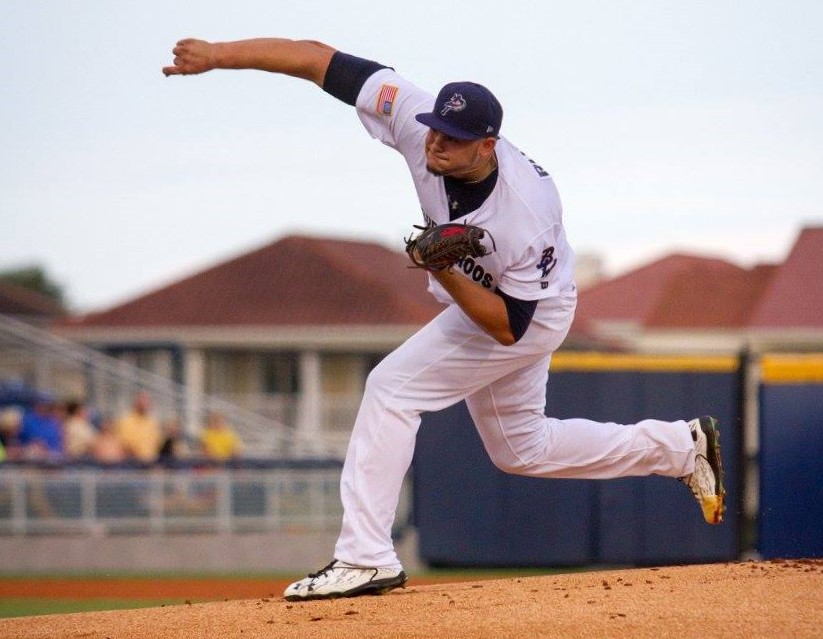 [Photo credit: Barrett McClean/Pensacola Blue Wahoos]