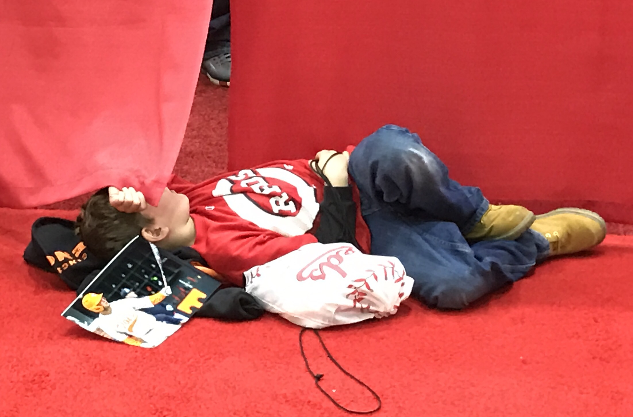 Every single person attending any Redsfest, ever
