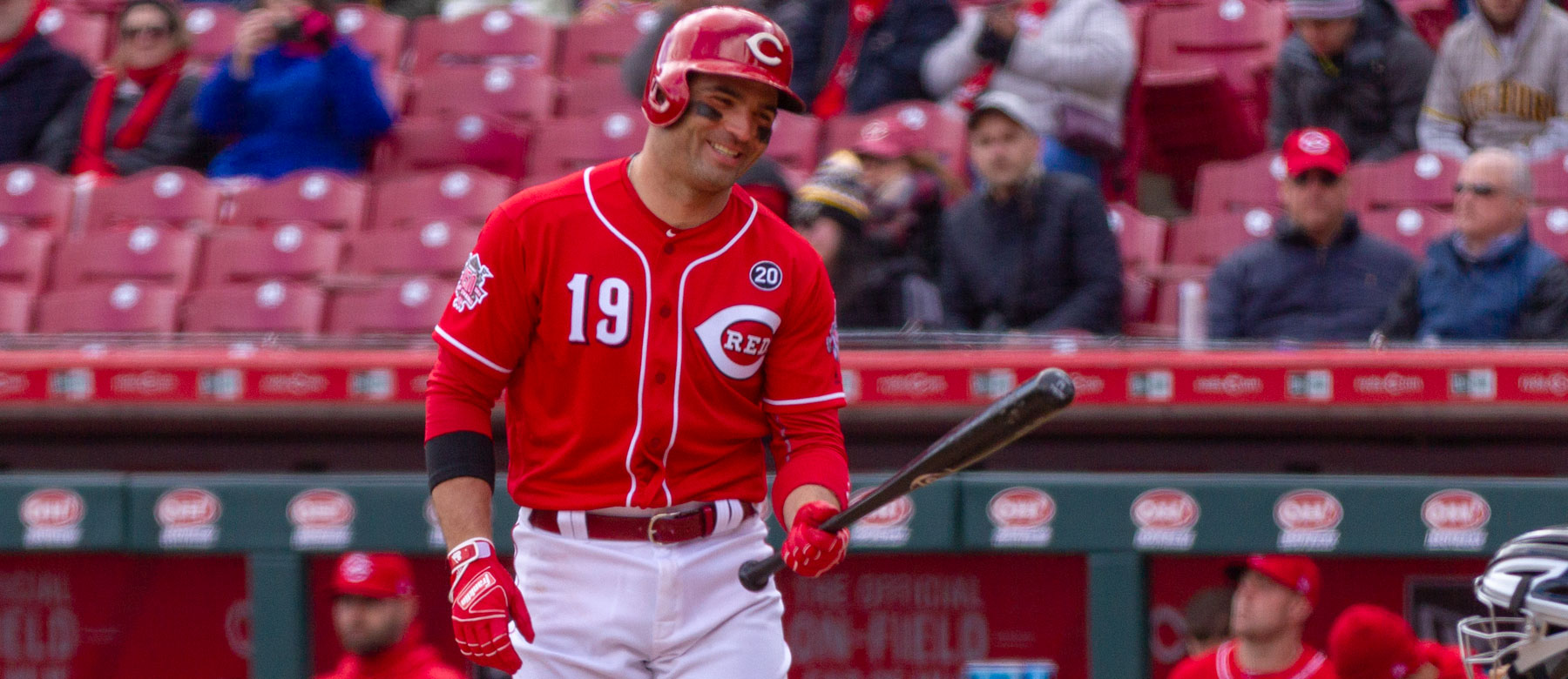 Joey Votto and the Reds wins and losses