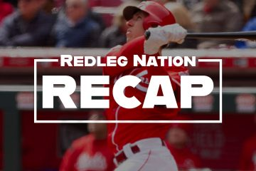Redleg Nation Game Recap Michael Lorenzen Hitter