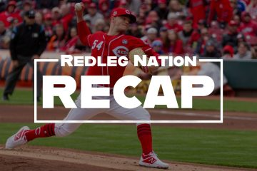 Redleg Nation Game Recap Sonny Gray