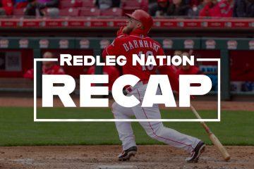 Redleg Nation Game Recap Tucker Barnhart