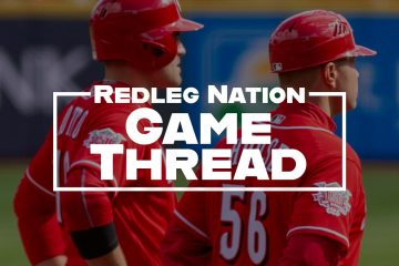 Redleg Nation Game Thread Joey Votto JR House Generic