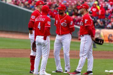 Cincinnati Reds infield Jose Peraza (Photo: Doug Gray)