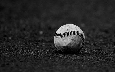 Generic Baseball In Dirt Photo