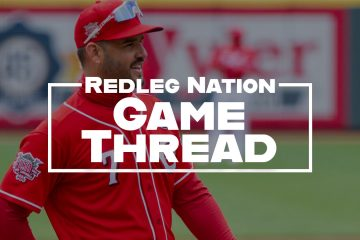 Redleg Nation Game Thread Eugenio Suarez