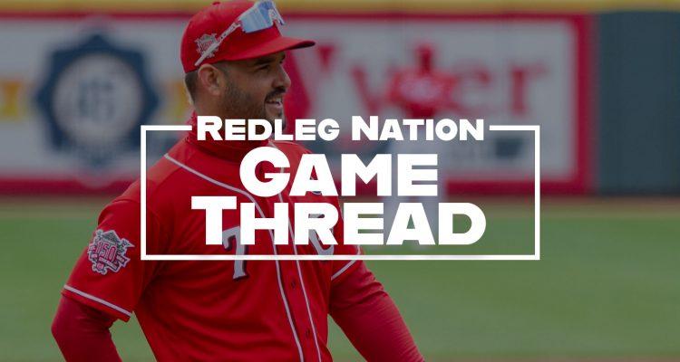 Redleg Nation Game Thread Eugenio Suarez