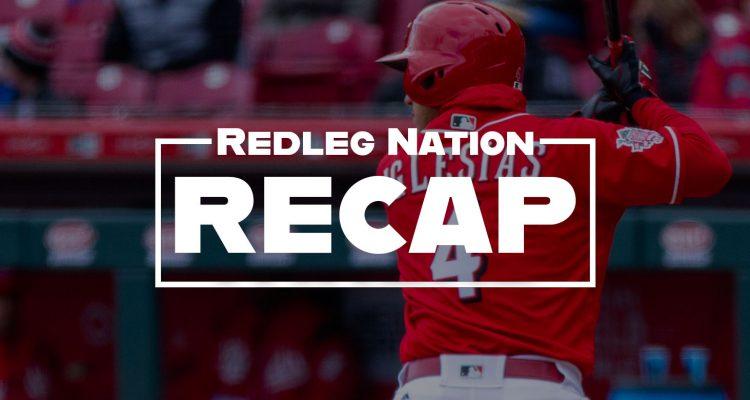 Redleg Nation Game Recap Jose Iglesias