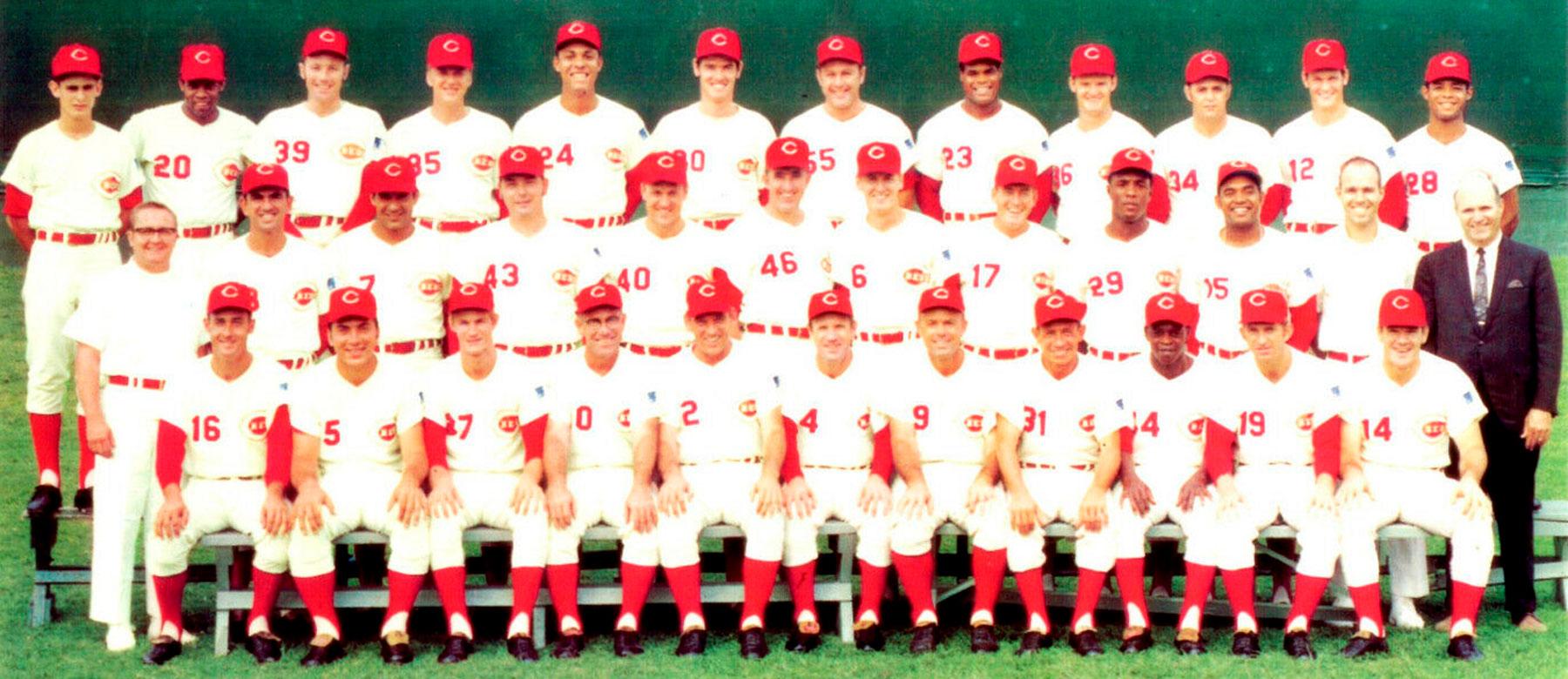 Cincinnati Reds 150 Throwback Uniforms - 1969 Edition - Redleg Nation