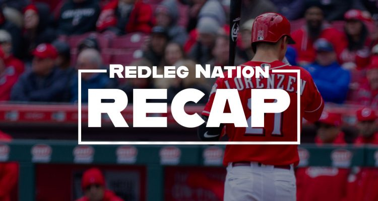 Redleg Nation Recap Michael Lorenzen Hitter