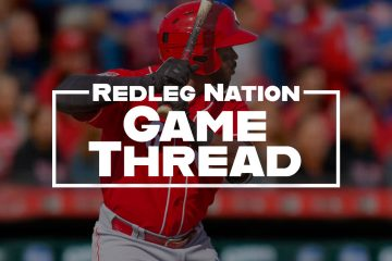 Redleg Nation Game Thread Phillip Ervin