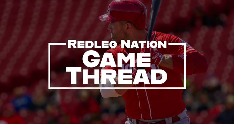 Redleg Nation Game Thread Joey Votto