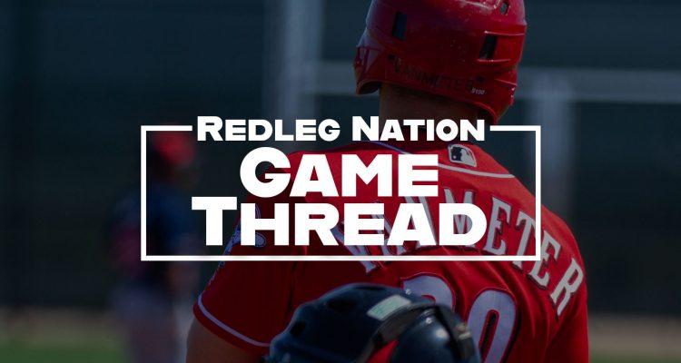 Redleg Nation Game Thread Josh VanMeter