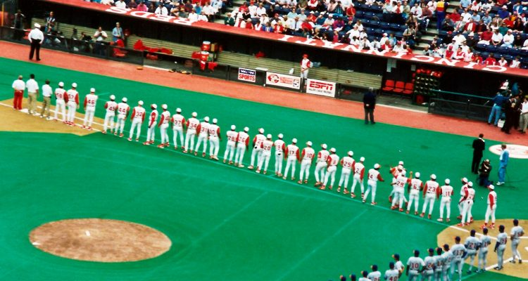 check out 90fd4 66bb4 Cincinnati Reds 150 Throwback Uniforms - 1995 Edition ...