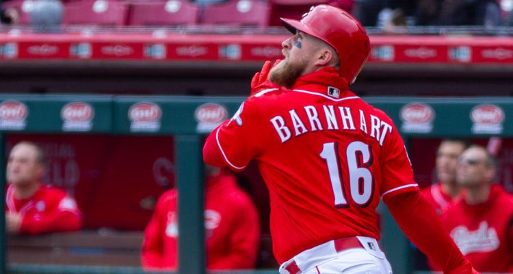 Tucker Barnhart (Photo: Doug Gray)